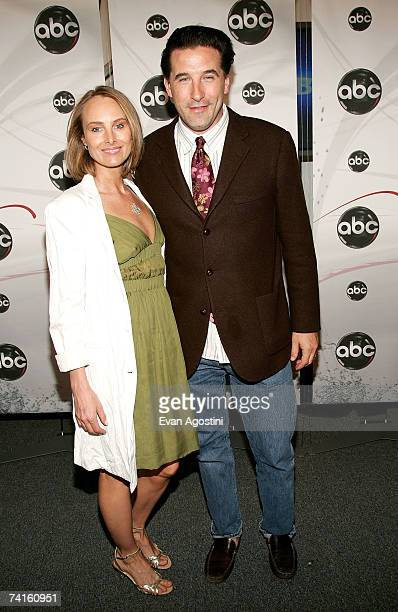 Actor William Baldwin and wife Chynna Phillips attend the ABC Upfront presentation at Lincoln Center on May 15 2007 in New York City