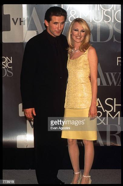 Actor William Baldwin and wife Chynna Phillips stand at the 1995 VH1 Fashion and Music Awards December 3 1995 in New York City The awards which were...