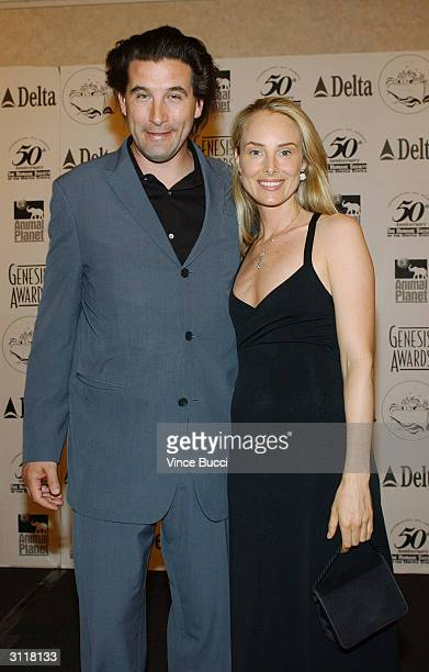 Actor William Baldwin and wife singer Chynna Phillips attend the 18th Annual Genesis Awards presented by the Humane Society of the United States on...