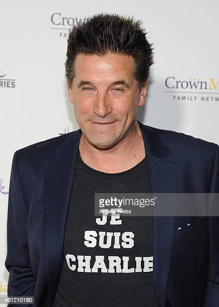 Actor William Baldwin arrives at Hallmark Channel Hallmark Movie Channel's 2015 Winter TCA party at Tournament House on January 8 2015 in Pasadena...