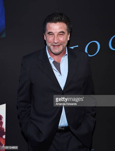 Actor William Baldwin arrives at the LA Special Screening of Amazon's Too Old To Die Young at the Vista Theatre on June 10 2019 in Los Angeles...