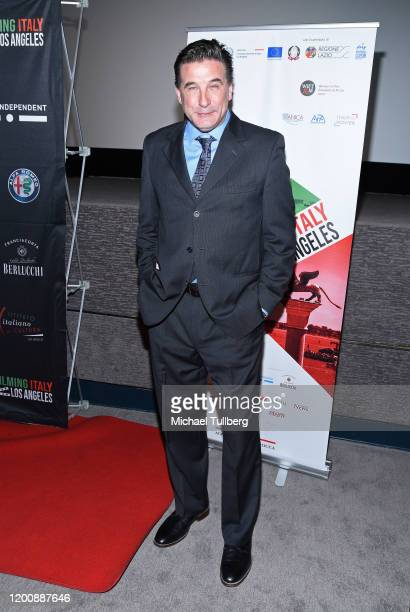 Actor William Baldwin attends 2020 Filming Italy at Harmony Gold Theatre on January 20 2020 in Los Angeles California