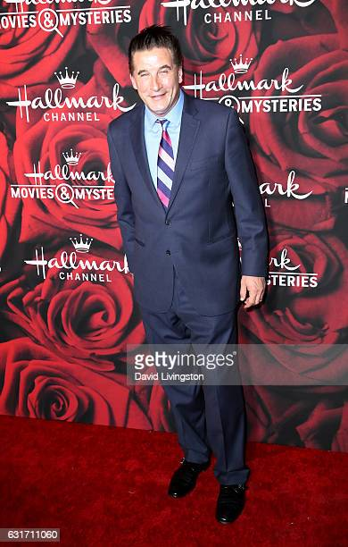 Actor William Baldwin attends Hallmark Channel and Hallmark Movies and Mysteries Winter 2017 TCA Press Tour at The Tournament House on January 14...