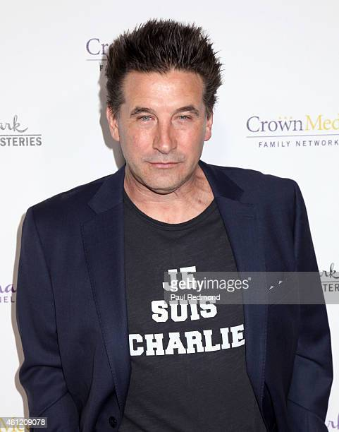 Actor William Baldwin attends the 2015 Television Critics Association Press Tour Hallmark Channel and Hallmark Movies Mysteries at Tournament House...
