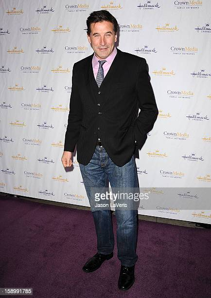 Actor William Baldwin attends the Hallmark Channel 2013 winter press gala at Huntington Library on January 4 2013 in Pasadena California