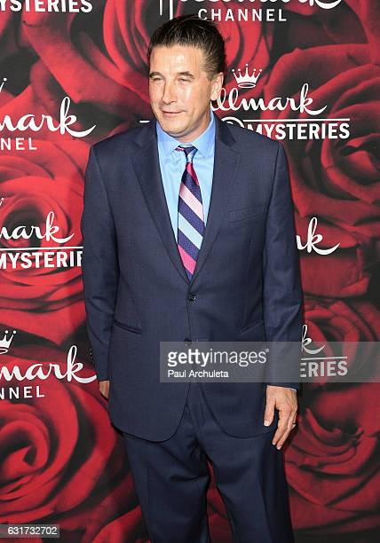 Actor William Baldwin attends the Hallmark Channel and Hallmark Movies and Mysteries Winter 2017 TCA Press Tour at The Tournament House on January 14...