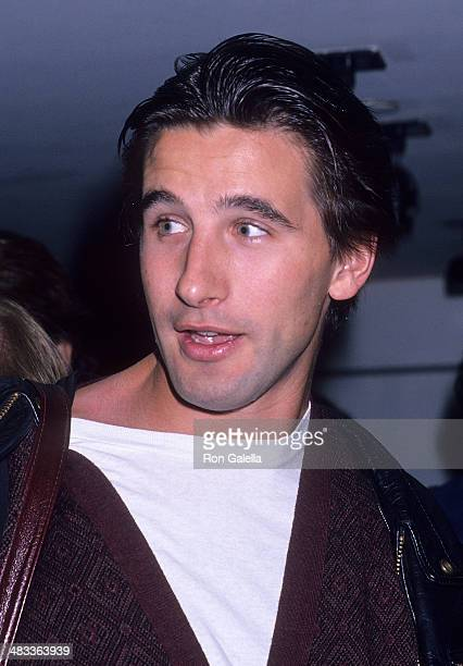 Actor William Baldwin attends the Party for the Housing Now March on October 3 1989 at Private Eyes in New York City