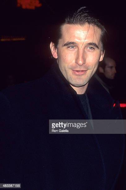 Actor William Baldwin attends the Ready to Wear New York City Premiere on December 12 1994 at the Ziegfeld Theatre in New York City