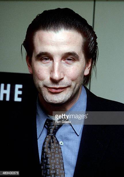 Actor William Baldwin attends the Screening of the Documentary Murder on a Sunday Morning on March 7 2002 at HBO Headquarters 1100 Avenue of the...