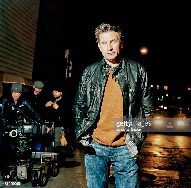 Actor William Baldwin is photographed for Vanity Fair Magazine on December 19 2012 in Brooklyn New York PUBLISHED IMAGE