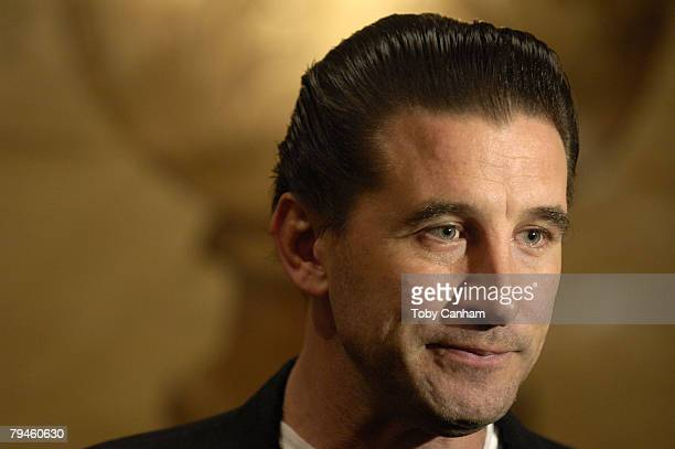 Actor William Baldwin poses for a picture at the Creative Coalitions Healthcare Policy Roundtable luncheon held at The Four Seasons Hotel January 31...