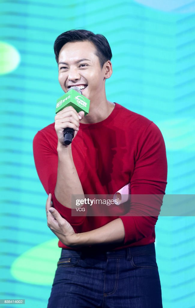 Actor William Chan attends a fans meeting on August 19, 2017 in Beijing, China.