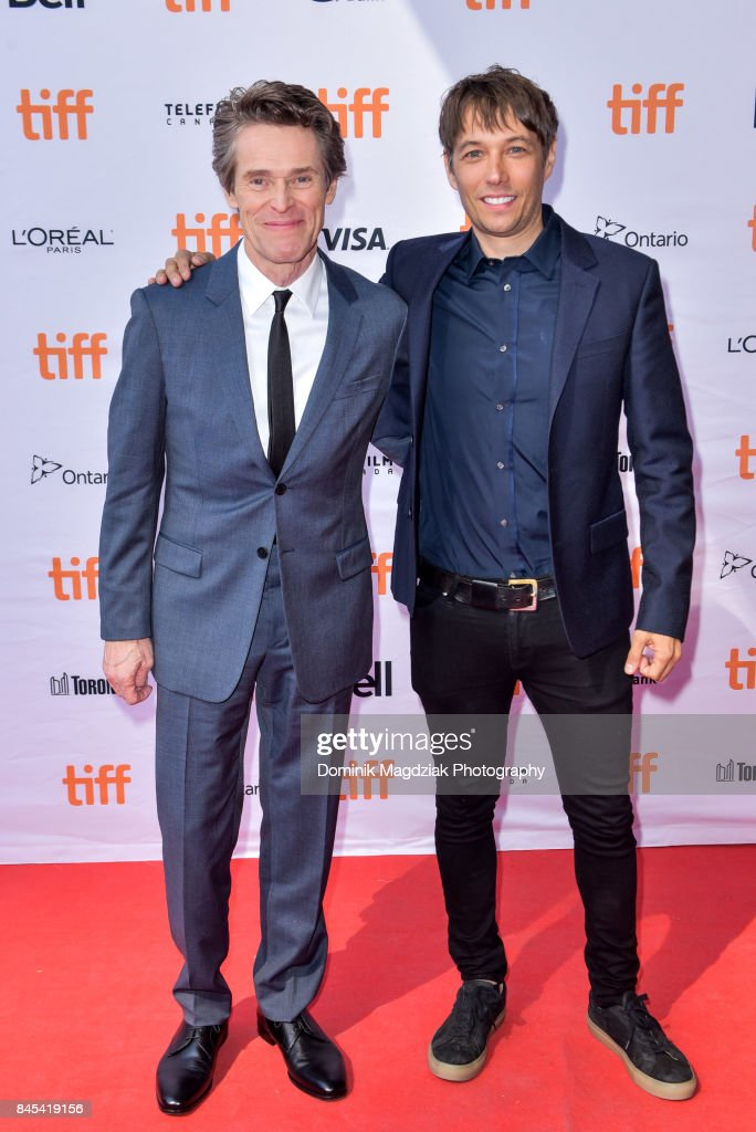Actor William Dafoe and filmmaker Sean Baker attend the 'The Florida Project' premiere at the Ryerson Theatre on September 10, 2017 in Toronto, Canada.