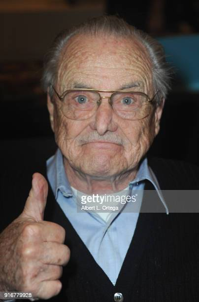 Actor William Daniels attends The Hollywood Show held at Westin LAX Hotel on February 10 2018 in Los Angeles California