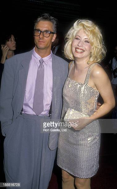 Actor William DeAcutis and actress Linda Kozlowski attends the premiere of Crocodile Dundee on May 22, 1988 at Mann Chinese Theater in Hollywood,...