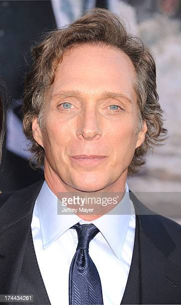 Actor William Fichtner arrives at 'The Lone Ranger' World Premiere at Disney's California Adventure on June 22 2013 in Anaheim California