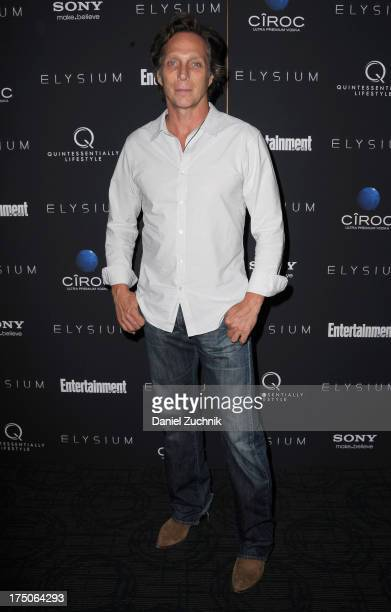 Actor William Fichtner attends 'Elysium' New York screening at Sunshine Landmark on July 30 2013 in New York City