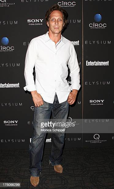 Actor William Fichtner attends 'Elysium' screening at Sunshine Landmark on July 30 2013 in New York City