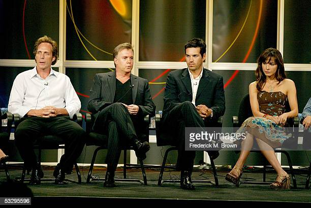 Actor William Fichtner Show Creator/Executive Producer Shaun Cassidy actor Eddie Cibrian and actress Lisa Sheridan attend the panel discussion for...