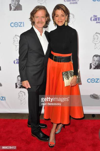 Actor William H Macy and actress Wendie Malick attend the 3rd Annual Carney Awards at The Broad Stage on October 29 2017 in Santa Monica California