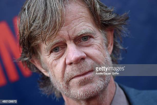 Actor William H. Macy arrives at CBS, CW And Showtime 2015 Summer TCA Party at Pacific Design Center on August 10, 2015 in West Hollywood, California.
