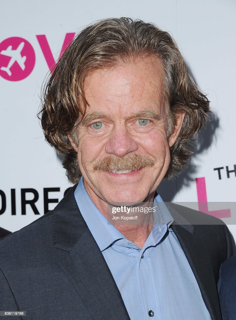 Actor William H. Macy arrives at Los Angeles Premiere 'The Layover' at ArcLight Hollywood on August 23, 2017 in Hollywood, California.