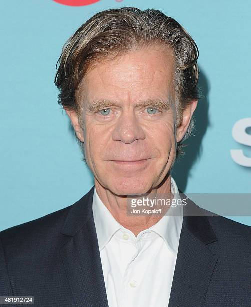 Actor William H Macy arrives at Showtime Celebrates AllNew Seasons Of 'Shameless' 'House Of Lies' And 'Episodes' at Cecconi's Restaurant on January 5...