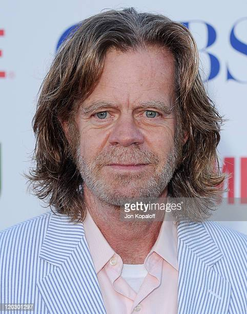 Actor William H. Macy arrives at the 2011 TCA Summer Press Tour - CBS, The CW, Showtime at The Pagoda on August 3, 2011 in Beverly Hills, California.