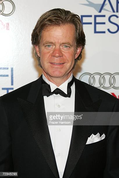 Actor William H Macy arrives at the AFI FEST presented by Audi opening night gala of Bobby at the Grauman's Chinese Theatre on November 1 2006 in...