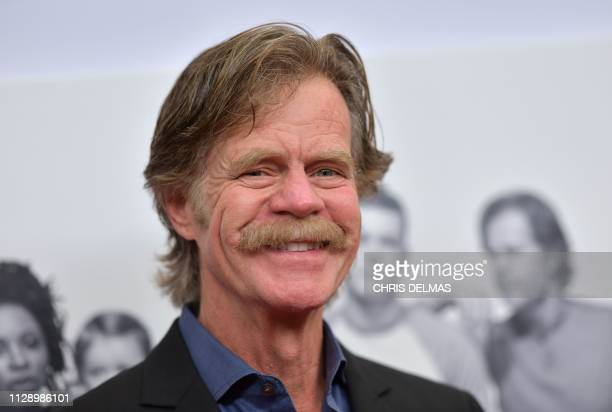 Actor William H Macy arrives for the Showtime series Shameless FYC red carpet event at the Linwood Dunn theatre in Hollywood on March 6 2019