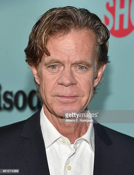 Actor William H Macy arrives to Showtime's Celebration of AllNew Seasons Of 'Shameless' 'House Of Lies' And 'Episodes' at Cecconi's Restaurant on...
