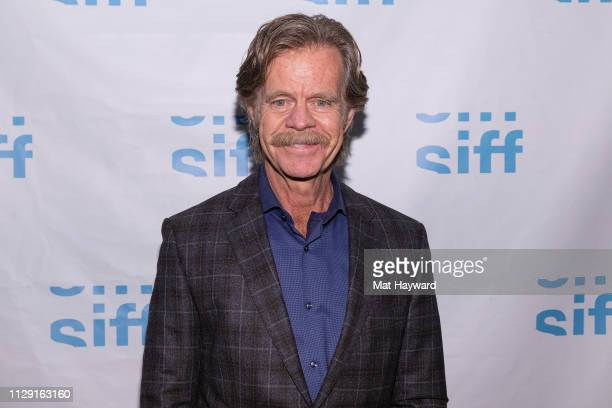 Actor William H Macy attends a screening of the film Stealing Cars and a QA hosted by TheFilmSchool at SIFF Uptown Cinema on March 7 2019 in Seattle...