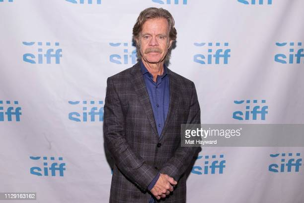 """Actor William H. Macy attends a screening of the film """"Stealing Cars"""" and a Q&A hosted by TheFilmSchool at SIFF Uptown Cinema on March 7, 2019 in..."""