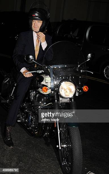Actor William H Macy attends Eva Longoria's Foundation dinner at Beso on October 9 2014 in Hollywood California