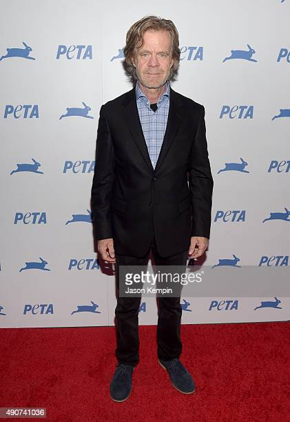 Actor William H. Macy attends PETA's 35th Anniversary Party at Hollywood Palladium on September 30, 2015 in Los Angeles, California.
