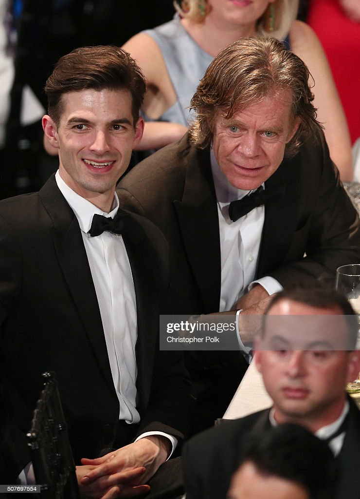 Actor William H. Macy (R) attends The 22nd Annual Screen Actors Guild Awards at The Shrine Auditorium on January 30, 2016 in Los Angeles, California. 25650_018