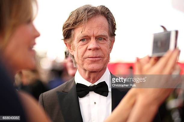 Actor William H Macy attends The 23rd Annual Screen Actors Guild Awards at The Shrine Auditorium on January 29 2017 in Los Angeles California...