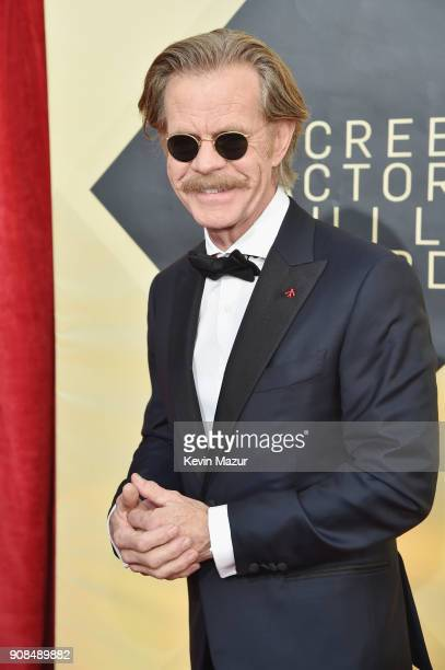 Actor William H Macy attends the 24th Annual Screen Actors Guild Awards at The Shrine Auditorium on January 21 2018 in Los Angeles California...