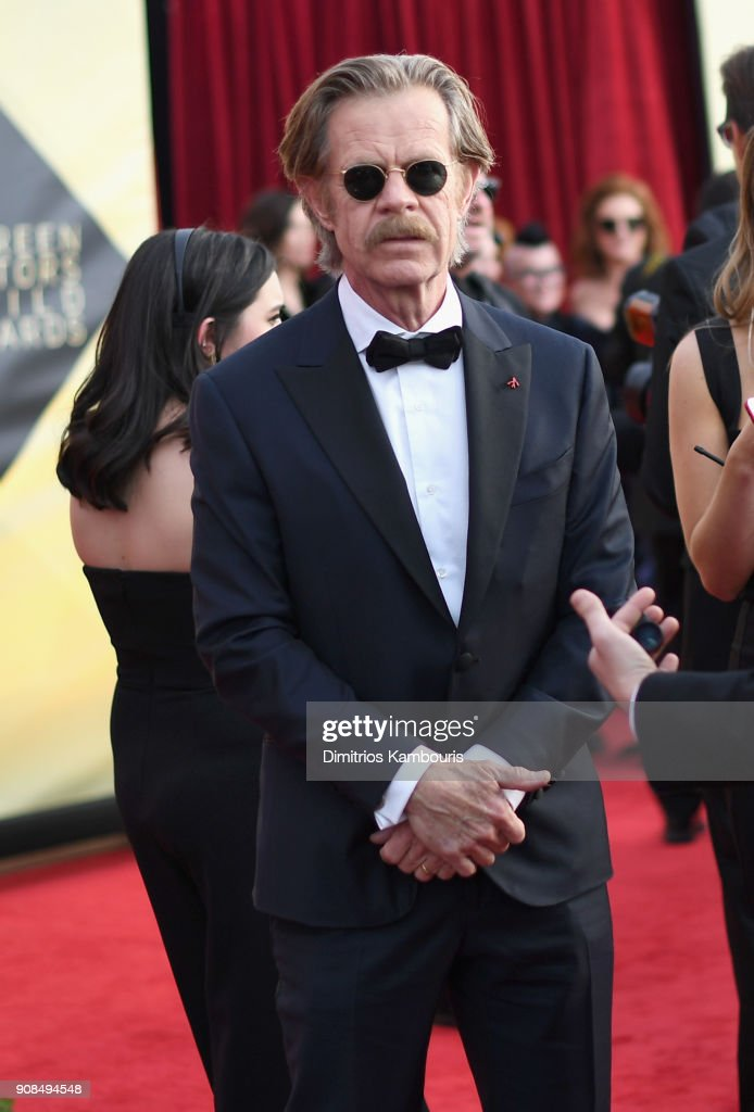 Actor William H. Macy attends the 24th Annual Screen Actors Guild Awards at The Shrine Auditorium on January 21, 2018 in Los Angeles, California. 27522_009
