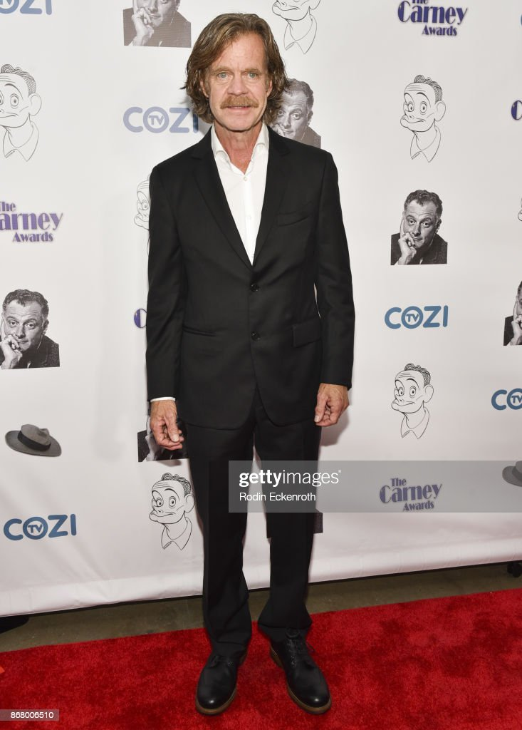 Actor William H. Macy attends the 3rd Annual Carney Awards at The Broad Stage on October 29, 2017 in Santa Monica, California.
