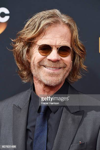 Actor William H Macy attends the 68th Annual Primetime Emmy Awards at Microsoft Theater on September 18 2016 in Los Angeles California