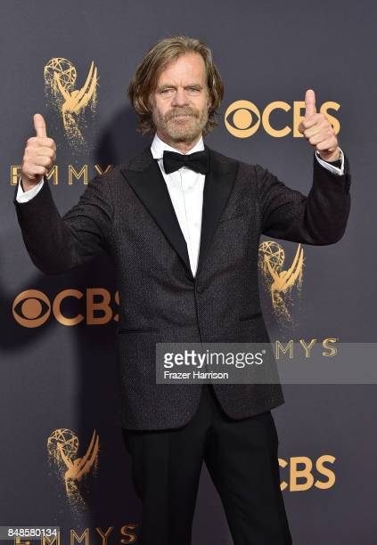 Actor William H Macy attends the 69th Annual Primetime Emmy Awards at Microsoft Theater on September 17 2017 in Los Angeles California