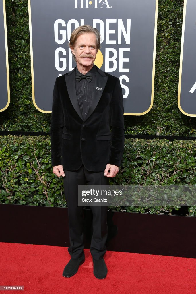 Actor William H. Macy attends The 75th Annual Golden Globe Awards at The Beverly Hilton Hotel on January 7, 2018 in Beverly Hills, California.