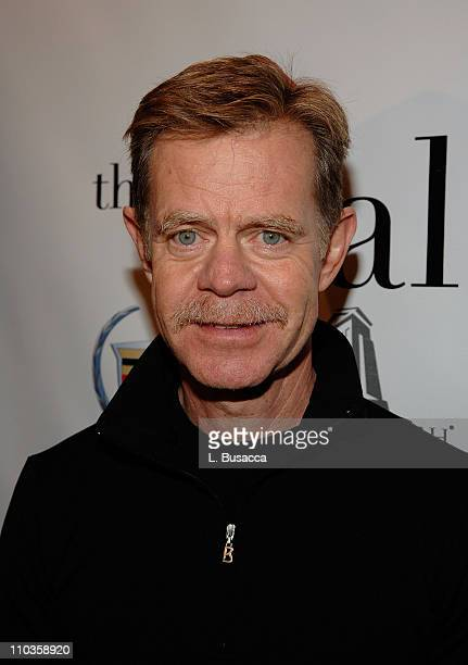 Actor William H Macy attends The Deal Party sponsored by Cadillac at the Hollywood Life House on January 22 2008 in Park City Utah