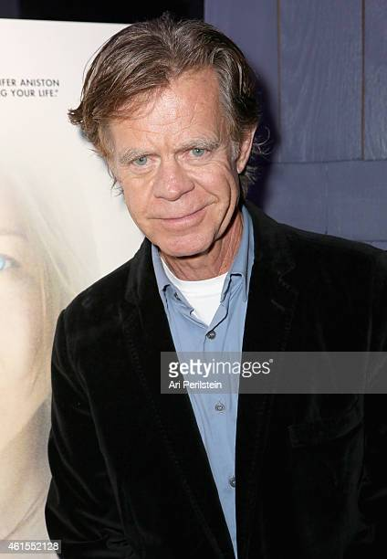 Actor William H Macy attends the Los Angeles Premiere Of 'CAKE' After Party at Sadie on January 14 2015 in Hollywood California
