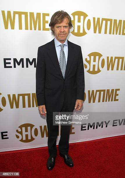 Actor William H Macy attends the Showtime 2015 Emmy Eve party at Sunset Tower Hotel on September 19 2015 in West Hollywood California