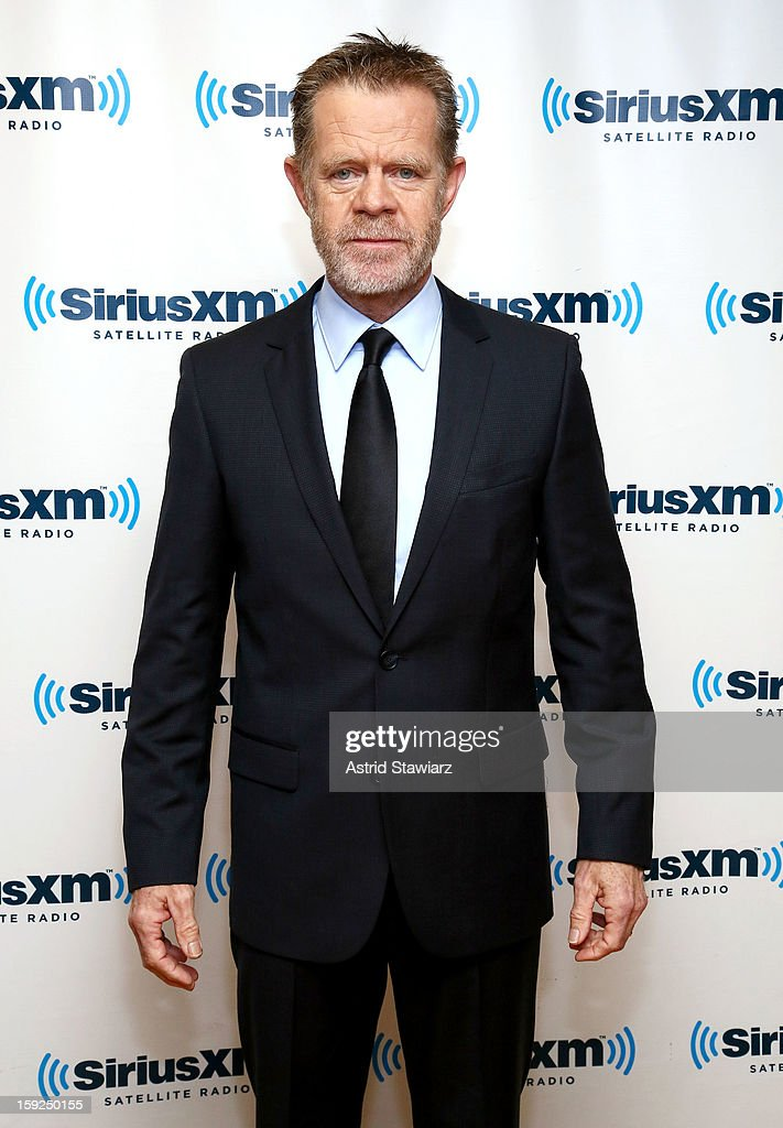 Actor William H. Macy visits SiriusXM studios on January 10, 2013 in New York City.