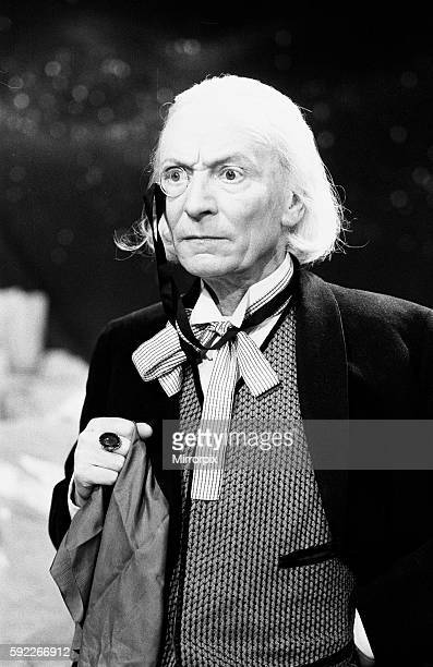 Actor William Hartnell - the first Doctor - pictured during rehearsals at Television Centre - Studio TC1 - 10th February 1965.