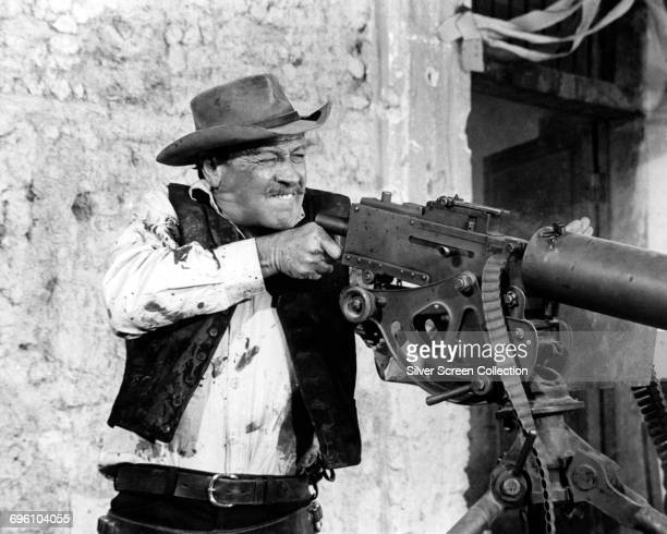 Actor William Holden as Pike Bishop in the western 'The Wild Bunch' directed by Sam Peckinpah 1969
