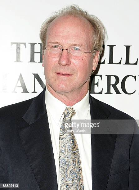 Actor William Hurt attends the premiere of The Yellow Handkerchief at The WGA Theater on November 25 2008 in Beverly Hills California